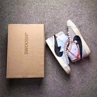 Wholesale Lace White Blazer - 2017 The Ten Off White X Virgil Abloh x Blazer Blazer Mid Men Running Sneakers The 10 Top Quality With Original Box