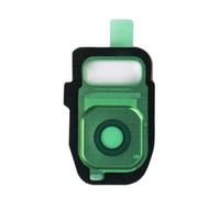 objectifs de caméra oem achat en gros de-Lentille de la caméra couvercle en verre OEM versions originales lunette argent Galaxy S7 Edge Adhensive Galaxy Téléphone Or Bleu Blanc Caméra Gorilla Glass Temper