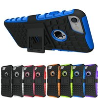 Rugged TPU Plastic Hybrid Heavy Duty Rüstung Handys Fall für Apple iPhone 4 4S 5 5S SE 6 6s 7 8 Plus 7Plus X Schock Proof Cover