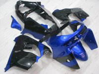 ingrosso kit di plastica kawasaki zx9r-Body Kits Zx9r 1999 Plastic Fairings per Kawasaki Zx9r 99 Blue Black Full Body Kit Zx-9r 1998 1998 - 1999