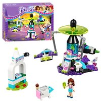 space block game - Bela Friends Amusement Park Space Ride building Blocks Bricks Toys Girl Game Toys for children House Gift Lepin