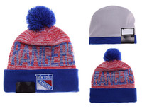 NEW HOT Sport KNIT NEW YORK RANGERS Baseball Club Beanies Team Hat Winter Caps Popular Beanie Wholesale Fix Cheap Gift VENDA