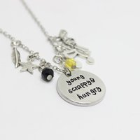 Wholesale Young Women Jewelry - 12cs lot Young Scrappy and Hungry Musical inspired necklace Charm pendnat necklace,personalized Jewelry for women girl gift
