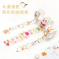 Vente en gros - 2016 Specil Cartoon Mewo Cat Decorative Washi Tape Sticker DIY Scrapbooking Ruban adhésif Ruban scolaire Escolar Papelaria