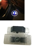 Wholesale 2X LED Car Door Laser Projector D Ghost Logo Shadow Light Decoratived LED Welcome Light For BMW E39 E53