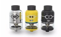 Wholesale Minion Free Dhl - Authentic Ample Pixy RDTA Minion Tank 4.5ml Tank with 810 Drip Tip and 510 Thread Large air Hole Free DHL shipping