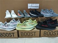 Wholesale Newest Colors SPLY Boost V2 Frozen Yellow Beluga Bred Cream White Copper Zebra Boost V2 Sports Sneakers Kanye West Running Shoes