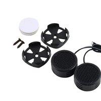 Wholesale Tweeter Auto - Universal High Efficiency 2x Car Mini Dome Tweeter Loudspeaker Loud Speaker Super Power Audio Auto Sound hot selling