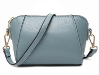 Wholesale Green Party Handbag - Luxy Moon Women's Handbag New Summer Style Women Shell Fashion Bags Pu Female Shoulder Bag Girls Party Messenger Bags model 32-40