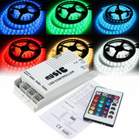 Wholesale music ir controller 24v resale online - DC12 V Keys Wireless IR Remote Control LED Music Sound rgb Controller Dimmer for RGB LED Strip and lamp
