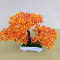 Wholesale Display Tier Wholesale - Pine bonsai desktop decorations small clear flower pots bonsai three - tier trigeminal plant decoration flowers high quality