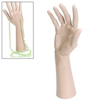 Wholesale Hands Display Rings - removable ring bracelet necklace display stand holder mannequin hand