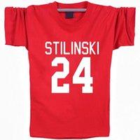 roupa de grife grátis venda por atacado-Stilinski 24 camisa Frete grátis manga curta Dia da Vida designer de tees de Lazer roupas de qualidade Tshirt de algodão Elástico
