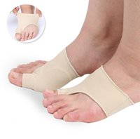 Pieds en nylon Prix-Super Toe Cyst Foot Care Tool Stretch Nylon Hallux Valgus Guard Cushion Bunion Toes Separator