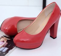 Wholesale Beautiful Wedge Heel Red - 2017 new fashion style women's shoes spring and autumn comfortable beautiful high heels large size free shipping
