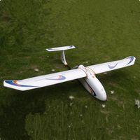 Wholesale Rc Tail Motor - Wholesale-2015 Skywalker airplane 1900 mm carbon fiber tail version Glider white EPO FPV Airplane RC Plane Kit