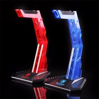 Fashion Sades Gaming Acrylic Headphone Stand Headset Hanger Shelf Rack Ecouteur Display Holder pour casque Gamer