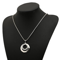 Wholesale Gold Filled Collar - 2017 new diamond Pendant collar Collarbone chain necklaces girls Silver plated Pendant Necklace for Women statement Jewelry wholesale