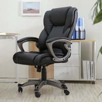 Wholesale Black PU Leather High Back Office Chair Executive Task Ergonomic Computer Desk