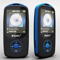 Wholesale High Quality Screen Recorder - New Original RUIZU X06 Bluetooth Sport MP3 Player with 1.8Inch Screen player 100Hours high quality lossless Recorder FM EbooK