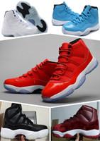 Wholesale Good Cheap Mens Shoes - Wholesale (11)XI Legend Blue Basketball Shoes Good Quality Men Sports Shoes Women&mens Trainers Athletics Boots Retro 11 XI Sneakers Cheap