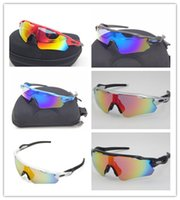 Wholesale Original Cycling Glasses - Original Brand Radar EV Pitch Polarized sunglasses coating sunglass for women man sport sunglasses riding glasses Cycling Eyewear uv400