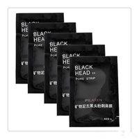 siyah başlı çamur toptan satış-Yüz Bakımı Maskeleri Mineral Çamur Burun Siyah Nokta Gözenek Temizleme Temizleyici Temizleme Membranlar Şeritler BlackHead Şerit Makyaj Araçları Ücretsiz Kargo