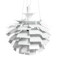 ingrosso illuminazione del pendente dell'hotel-50cm alluminio luz pendente lampada design moderno lampade a sospensione di carciofo per la casa poul henningsen ph 110 v 220 v