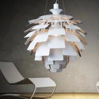 Wholesale Ph Modern Lamp - 50CM Louis Poulsen PH Artichoke Lamp designe Denmark Modern Suspension Pendant Light Chandelier Living room lamp