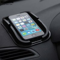 Vente en gros - 1PC 2017 HOT Sale !!! NOUVEAU Black Car Dashboard Sticky Pad Mat Anti Non Slip Car Dashboard Holder pour Gadget Mobile Phone GPS Stand