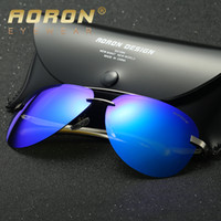 Wholesale Cheap Retro Cat Eye Sunglasses - High Quality Polarized Lens Pilot Fashion Sunglasses for Men and Women Designer UV400 Aviator Vintage Sport Sun Glasses Retro Eyewear Cheap