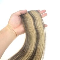 Tape weave hair extensions bulk prices affordable tape weave 7a unprocessed virign pu tape in human hair extension 4 27 human hair bundles weave ombre brazilian hair in big promotion in bulk price pmusecretfo Gallery