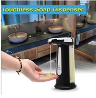 Wholesale Infrared Dispenser - 400ml Electroplated Automatic Sensor Soap Dispenser Touchless Sanitizer with Built-in Infrared Smart Sensor for Kitchen Bathroom