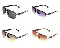 солнцезащитные очки для моделирования оптовых-10 шт. / лот 4 цвета солнцезащитные очки заводская цена классический моделирование спорт досуг бренд дизайнер защиты мода солнцезащитные очки UV400 высокое качество