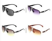 ingrosso modellando occhiali da sole-10 pc / lotto 4 colori Occhiali da sole Prezzo di fabbrica Modellistica classica Sport per il tempo libero Progettista del marchio proteggere Moda Occhiali da sole UV400 Alta qualità