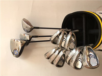 Wholesale Irons Cover - XXIO MP900 Full Set XXIO MP900 Golf Clubs Driver + Fairway Woods + Irons R S Flex Graphite Steel Shaft With Head Cover