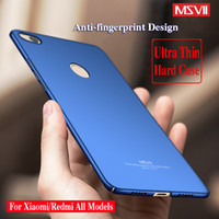 Wholesale Thin Hard Plastic Case - For Xiaomi MI Note 3 Case Redmi 5A Cover Note 4 4X 5A Shell Red Rice MSVII Ultra Thin Slim Matte Hard PC 360 Full Protection