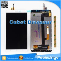 """Wholesale Resistive Lcd Touch - Wholesale- 5.5""""inch 1280*720 Original Tested Quality Touch For Cubot Dinosaur LCD Display Screen"""
