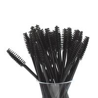 ferramenta lash dos olhos venda por atacado-Nova boa qualidade descartável 150 pçs / pacote cílios Eye Lash maquiagem escova Mini Mascara varinhas escova cílios ferramenta de extensão
