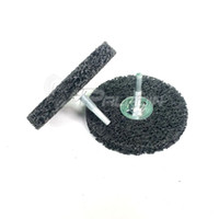 diamond grind NZ - 2 pieces Mounted Black Diamond Grinding Disc Paint Stainless Steel Grinding Drill Die Grinder Rotary Tools