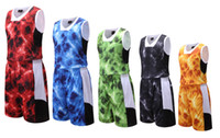 Wholesale Wholesale Sports Suits - 811# Basketball training suit wholesale uniforms!basketball sets customized your team logos,top quality wicking polyester sports suit