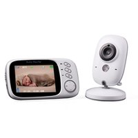 Wholesale Portable Wireless Video Camera - Wholesale- VB601 Upgraded 3.2 inch Video Baby Monitor Wireless Security Camera 2.4GHz Radio Babysitter Baba Electronica Night Vision Nanny