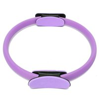 Atacado de Yoga Pilates Anel Pilates Anillo Magic Circle Enrole Envelhecimento Body Building 2016 Fitness Yoga Marca círculos roxo