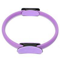 Wholesale Magic Circle Pilates Ring - Wholesale- Yoga Pilates Ring Pilates Anillo Magic Circle Wrap Slimming Body Building 2016 Brand Fitness Yoga Circles purple