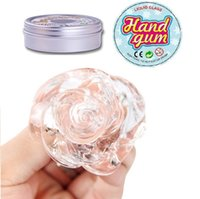 Wholesale Tin Toys Wholesale - DHL Free Shipping Children And Adults Fidget Toy 60g Tin package Liquid Glass Hand Gum Silly Putty