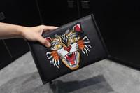 Wholesale Men Models Dress - Men Clutch Bags Luxury brand package fashion wallet Italian Top designer bags size 28*18*2 model 171112549