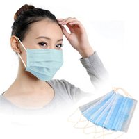 Wholesale Hot Best Deal Disposable Earloop Face Mask Filters Bacteria Breathable Beauty Medical PLY Beauty Girl B2130