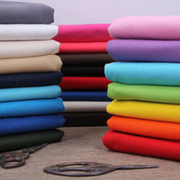 Wholesale canvas Fabric width cm thickening cotton Solid color DIY Bedding article Sofa Sheet curtain Home Textiles