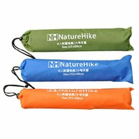 Wholesale Inflatable Tent Free Shipping - Wholesale- Outdoor Fold Aluminum Film Inflatable Camping Tent Blanket Pad For 1-2 free Shipping