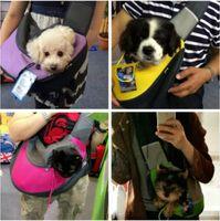 Wholesale Pet Backpack Carriers - Special Design Pet Dog Cat Puppy Carrier Mesh Travel Tote Shoulder Bag Sling Backpack Comfortable Dog Backpack Free Shipping